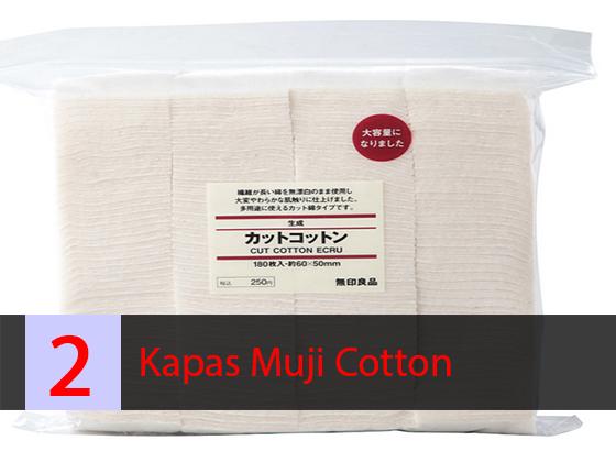 Kapas Vapor Muji cotton