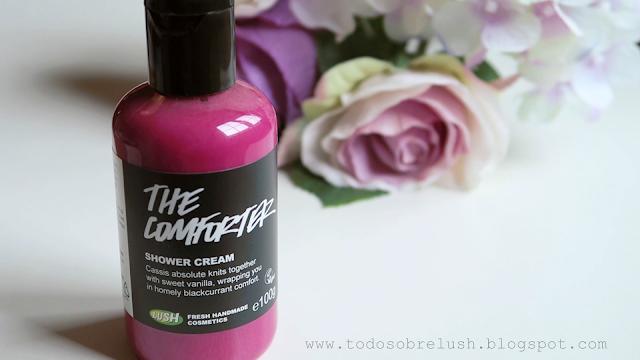 the comforter crema de ducha lush