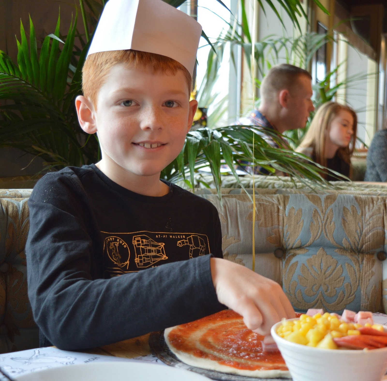 Kids make your own pizza at Liberty Brown, Sunderland