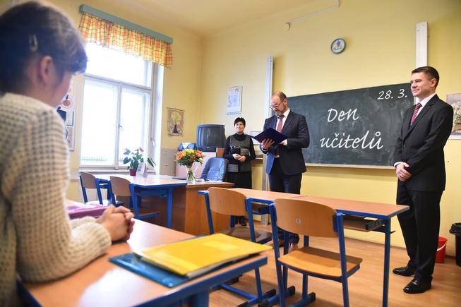 Jak se připojím k učiteli