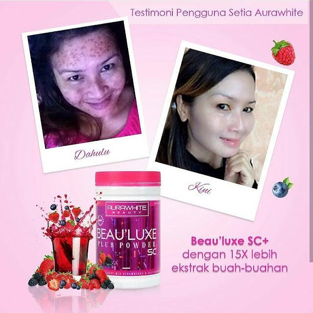 Testimoni Aurawhite Beau'Luxe Plus Powder SC