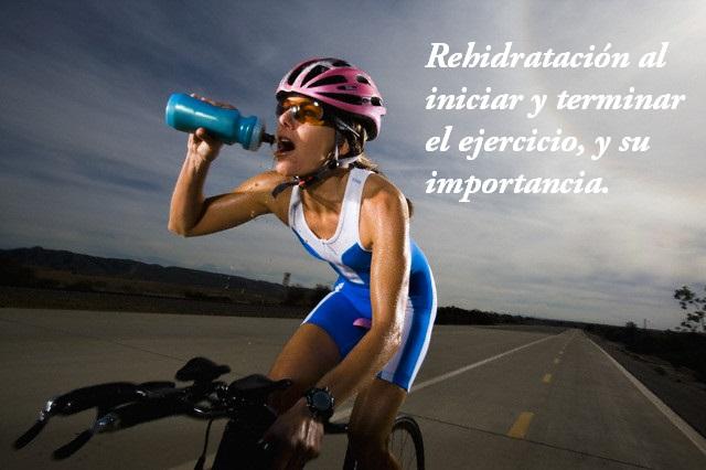 Beneficios de hidratarse durante los ejercicios
