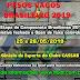 PESOS VAGOS (SELETIVA BRASILEIRO 2019) E OPEN DE COLORIDAS (25 e 26/05/2019)