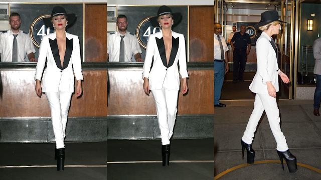 FOTOS HQ Lady Gaga dejando su apartamento en Nueva York (Septiembre 22)