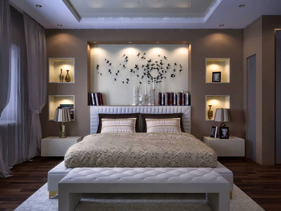 Ordinaire Best Stylish Wallpaper For Bedroom Design