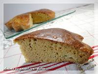 Gâteau au yaourt sans gluten et sans lactose