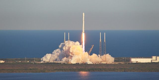 SpaceX launches the TESS spacecraft atop a Falcon 9 rocket. Photo Credit: Michael Deep / SpaceFlight Insider