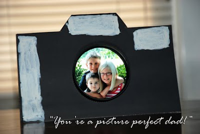 Father's day craft homemade DIY camera card