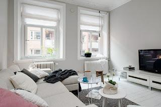 Apartamento decorado De Um Quarto Feminino