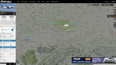 Boeing 787 Dreamliner, PLL LOT, Flightradar24