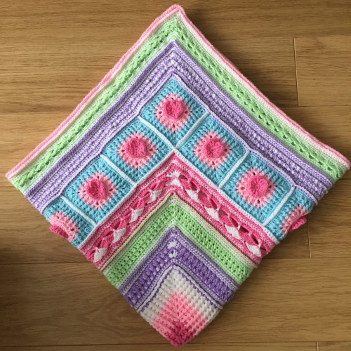 The Neave Baby Blanket - Free Pattern