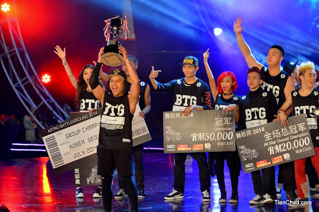 Astro Battleground 2014 Winners Khenobu x Legosam