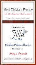 Best Chicken recipe award