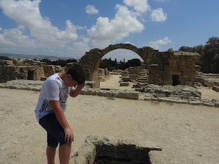 archaeological park paphos