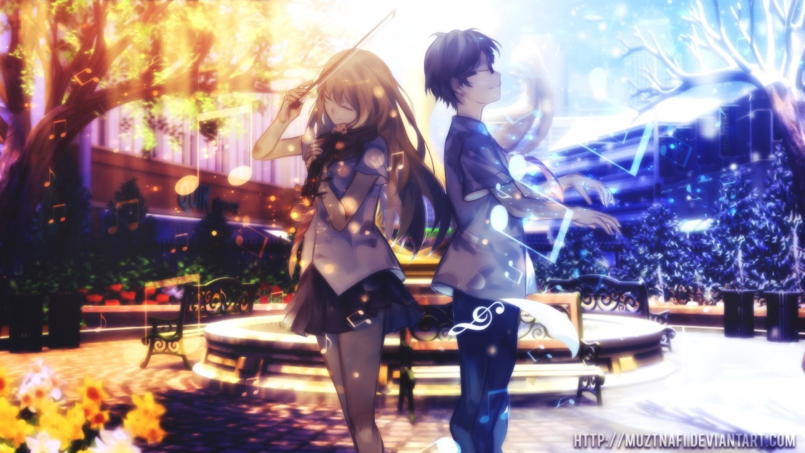 Download OST Opening Ending Insert Song Acoustic Version Anime Shigatsu Wa Kimi No Uso Full