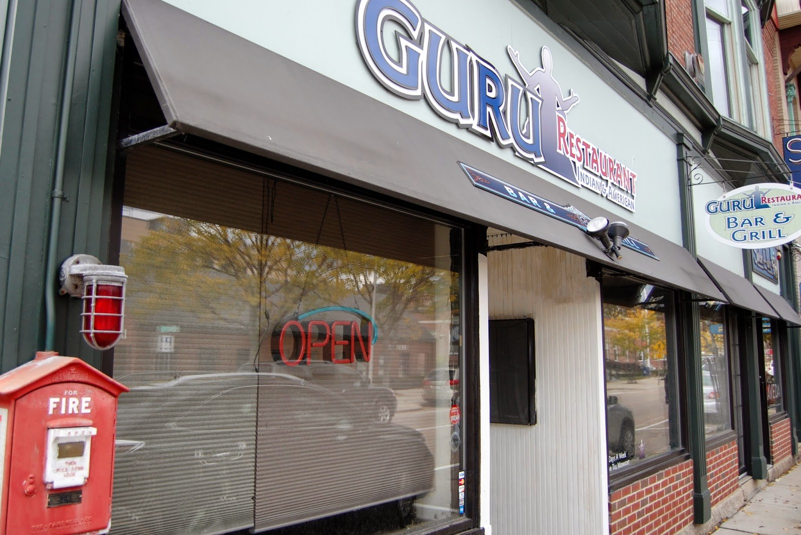 The 'open sign' will get lit up in January or February at Guru