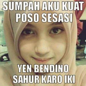 meme dp bbm ramadhan