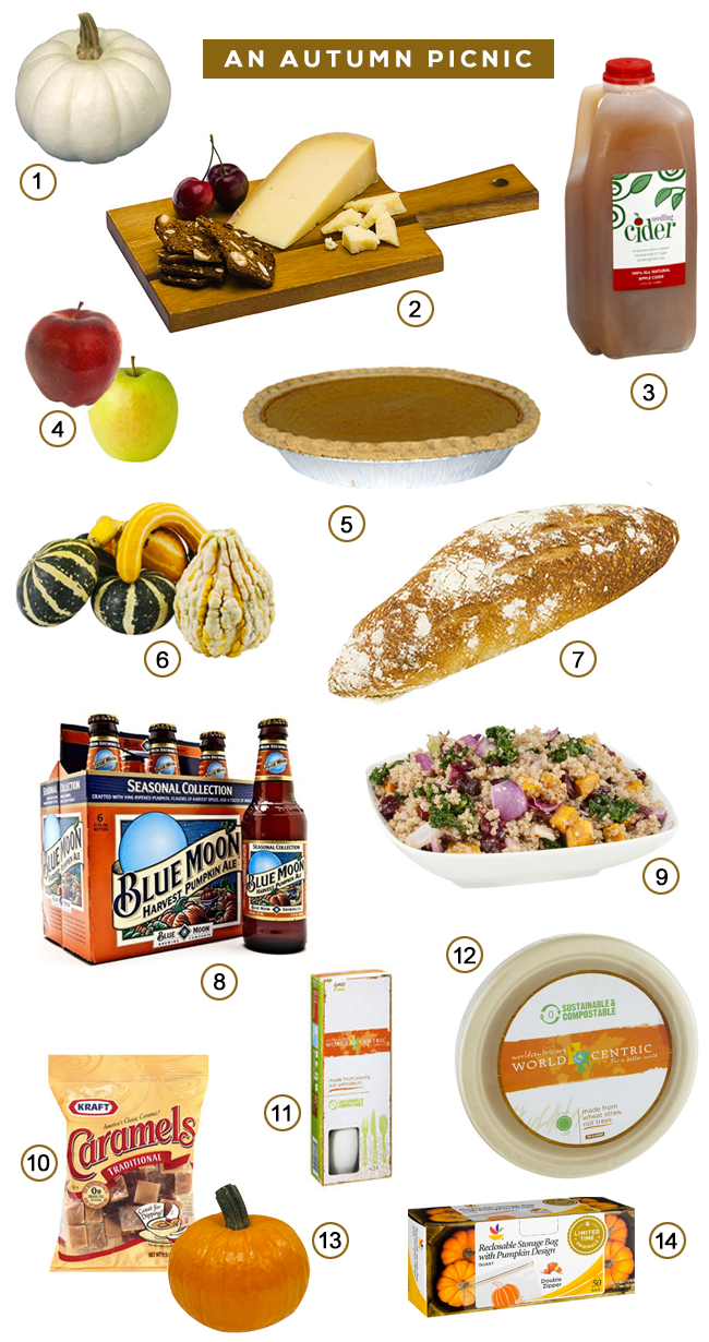 Fall Picnic Ideas (via Bubby and Bean)