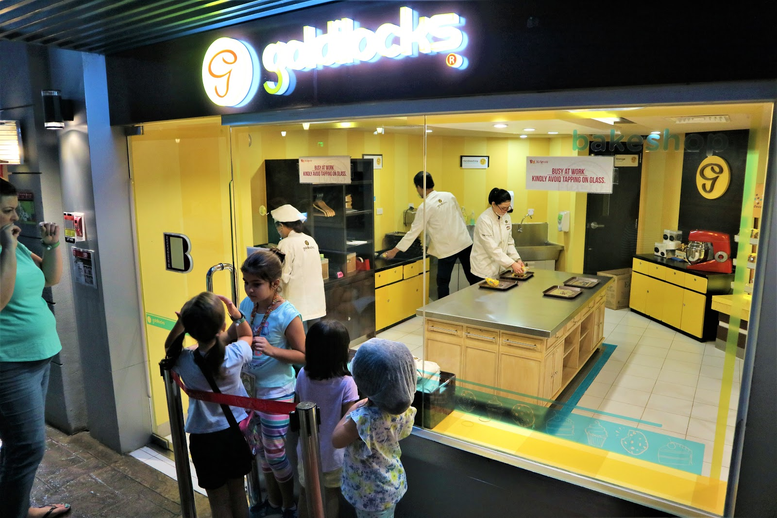Goldilocks Bakeshop in KidZania Manila