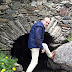 Sortida d'aigua de la serradora de la Cortinada (Andorra)