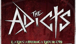 THE ADICTS Latin American Tour