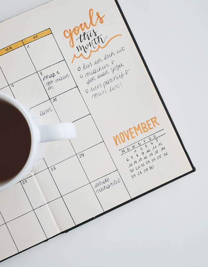 Organize-se melhor com o bullet journal, veja 5 dicas que podem ajudar a otimizar seu tempo