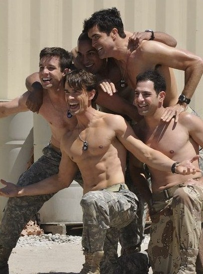 army group naked