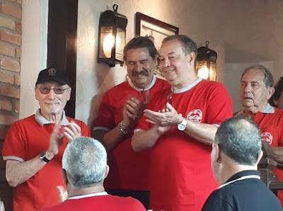 Percival Lafer, Romeu Nardini, Walter Arruda e Luiz Paulo Zotti.