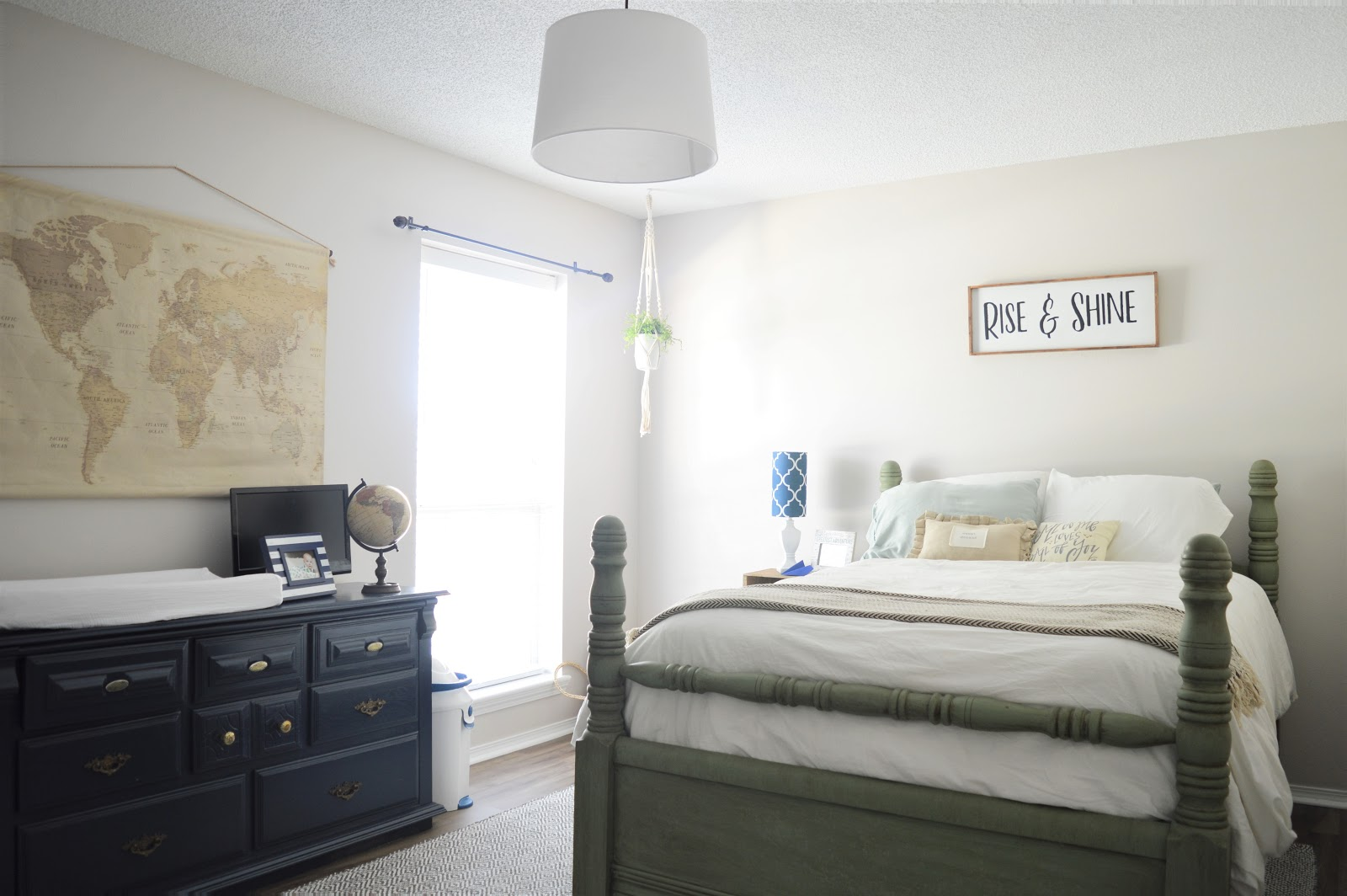 Nursery Guest Room Reveal The Fogue Abode Blog