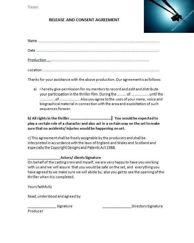 AS Media-Nicholas Pre-Production Paperwork - Location Release Form