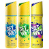 Set Wet Deodorant Spray Perfume, 150ml (Cool, Charm and Chill Avatar, Pack of 3)