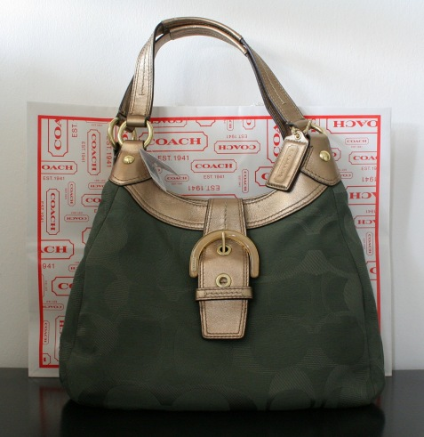 dc5378a67 Authentic Luxury Items @ Bargain Price: Coach Soho Textured Opt F17396