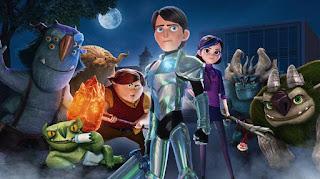 Imagen promocional con todos los personajes buenos de la serie.