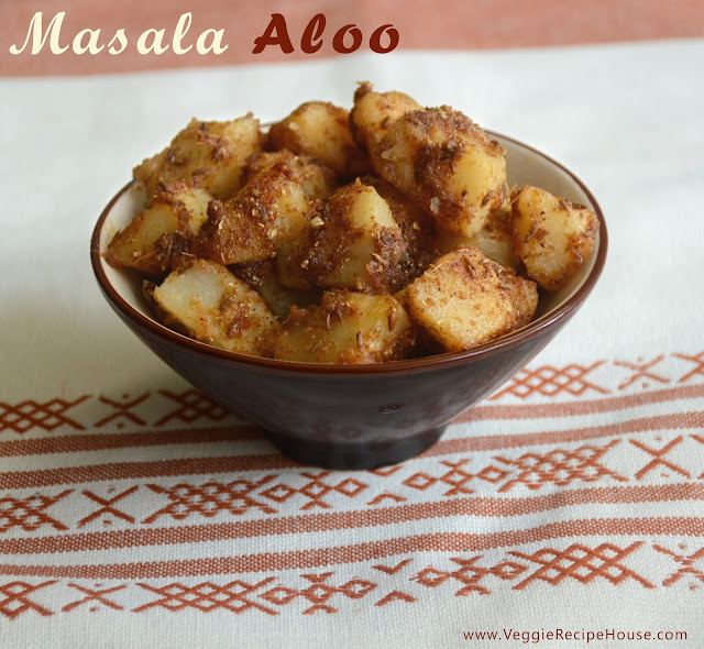 Masala Aloo navratri by veggierecipehouse