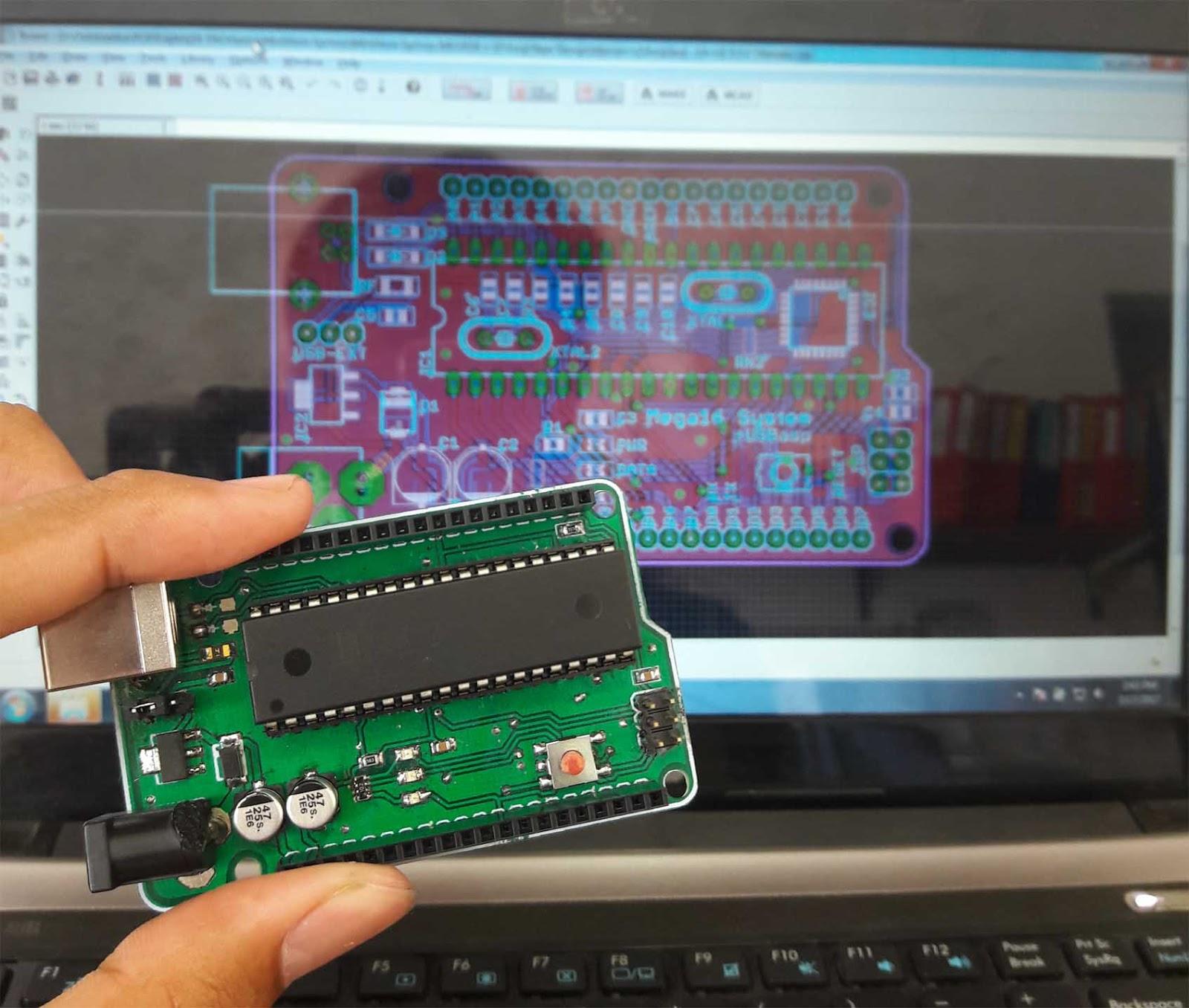 demo desain PCB