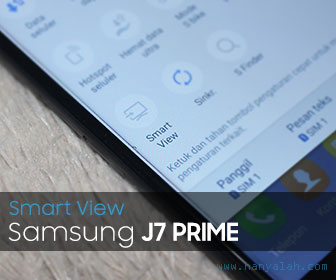 Smart View Galaxy J7 Prime