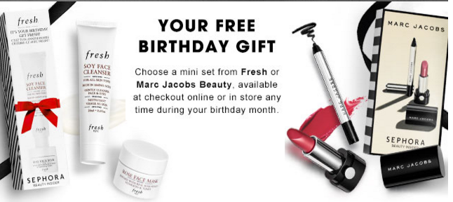 Free Birthday Gift From Sephora When You Sign Up For Their Beauty Insider Club The Item Is Available On Your Month And Pick It In