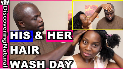 Natural Hair Wash Day | Nappy Styles