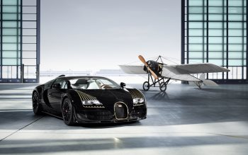 Wallpaper: Bugatti Veyron Grand Sport Vitesse Black Bess