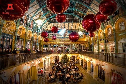 Du lịch Châu Âu tham Khu phố Covent Garden nước Anh