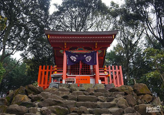 En haut du Yûtoku Inari, Saga