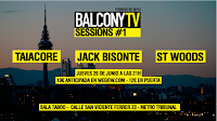 Balcony tv Sessions en Sala Taboó