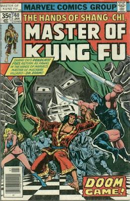 Master of Kung Fu #60, Dr Doom