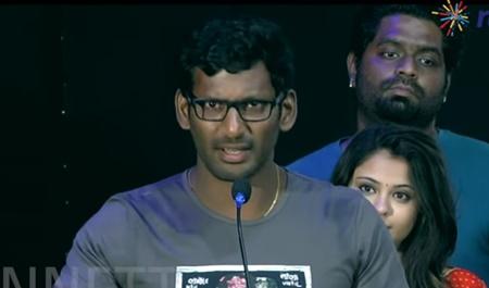 Vishal's request to H Raja -Nenjil Thunivirundhal