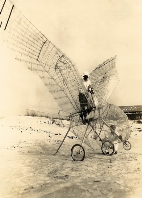 What if we stopped there? George White's Ornithopter, 1928