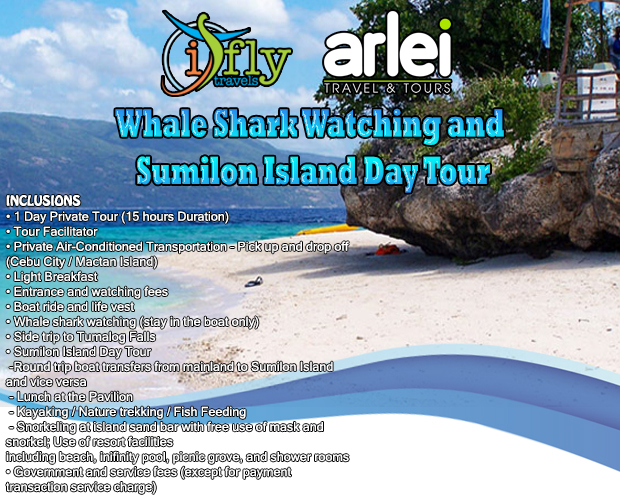 Sumilon Island and Whale Shark