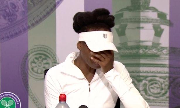 Watch: Wimbledon 2017: Venus Williams cries about crash in which man died