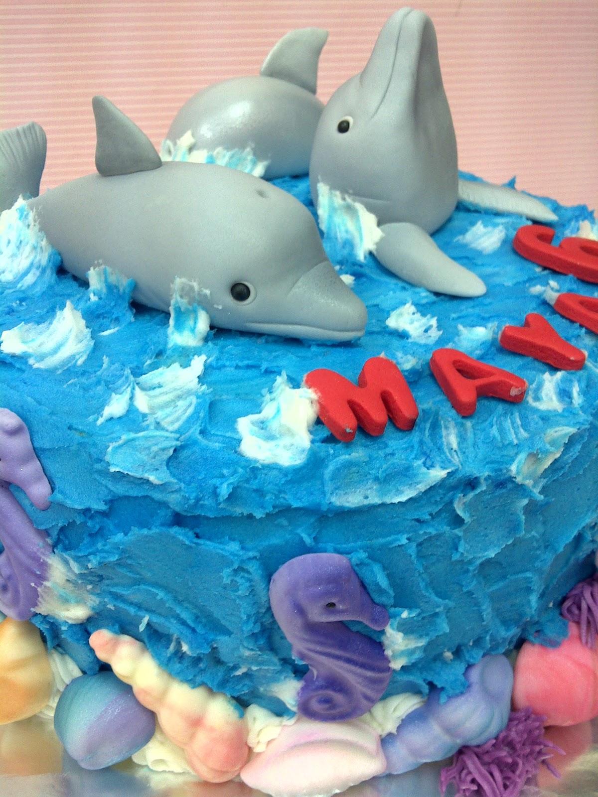 Dolphin Cake Unique Cake