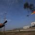 บริษัทไฟฟ้าจีนแห่งหนึ่งเริ่มใช้โดรนพ่นไฟทำความสะอาดสายไฟ