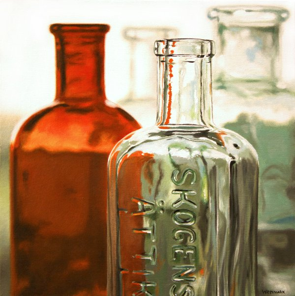 Johannes Wessmark 1962 | Swedish Hyperrealist painter